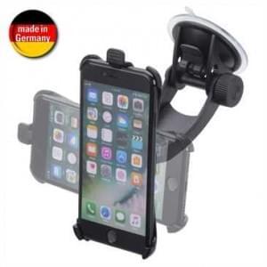iGrip Reise Kit für Apple iPhone 8 Plus / 7 Plus- Mount & Holder mit Schnellverschluss - schwarz