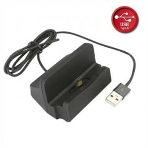 Dockingstation USB Typ C mit USB 2.0 Kabel 1,25 m - schwarz
