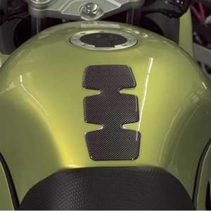 HR Prewoodec Universal Motorrad Moped Bike Tankpad - 3er Rippe - 155 x 78 x 2 mm - Made in Germany