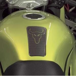 HR Prewoodec Universal Motorrad Moped Bike Tankpad - Stier 2 -120 x 83 x 2 mm - Made in Germany
