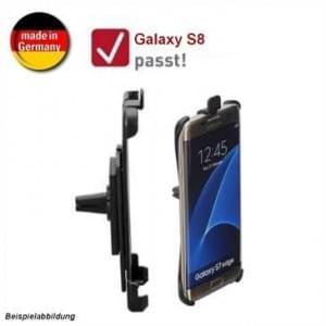 HR Kfz Auto Lüftungshalterung für Samsung Galaxy S8 - drehbar (Made in Germany)