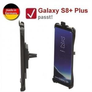HR Kfz Auto Lüftungshalterung für Samsung Galaxy S8+ Plus - drehbar (Made in Germany)