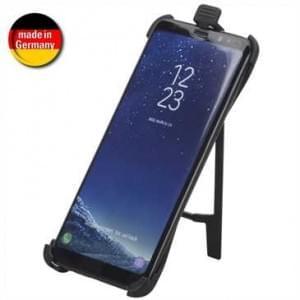 HR Halteschale für Samsung Galaxy S9 KFZ / Fahrrad / Motorrad / Motorroller / Büro - schwarz