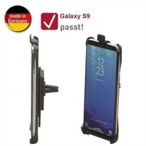 HR Kfz Halter Lüftung für Samsung Galaxy S9 - drehbar (Made in Germany)