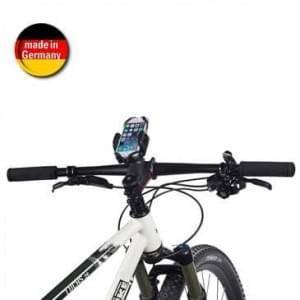 HR Fahrrad Motorradhalter Kit QuickFix mit Schraubmontage Lenkervorbau für Geräte m. Breite 42-78mm