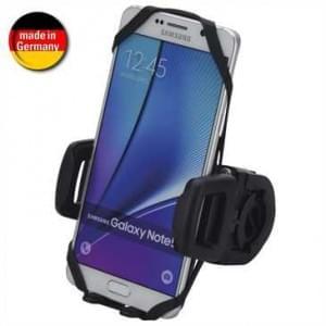 HR Fahrrad / Motorrad Universal Smartphone Halter für Gerätebreite von 42-78 mm (Made in Germany)
