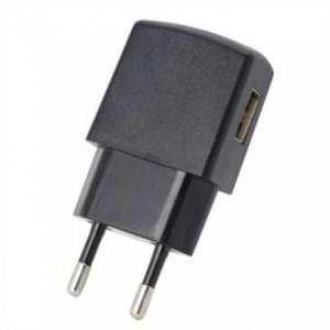 USB Netzteil 100-240V 5V1A - Input AC: 100-240V 200mA 50-60Hz - Output DC: 5V1A - Schwarz