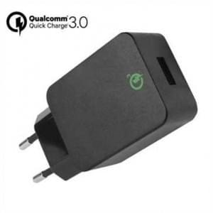 Netzteil USB Quick Charge 3.0 Klasse A - 18 Watt - 12V /9V /5 V max. 3A - schwarz