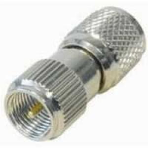 Adapter FME-Stecker (m) auf Mini-UHF-Stecker (m)