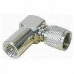 Adapter FME-Stecker FME (m) auf TNC (m) 90° Winkel