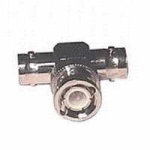 BNC-T-Stück Buchse-Stecker-Buchse UG274