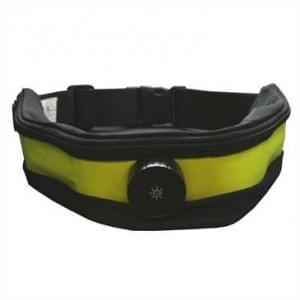 XiRRiX LED Sicherheits Bauch Lauf Gürtel + Handyfach Gelb