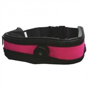 XiRRiX LED Sicherheits Bauch Lauf Gürtel + Handyfach Pink
