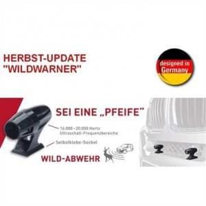 Ultraschall Wildwarngerät  mit Schlüssel Auto Wildwarner 2er Pack - selbstklebend
