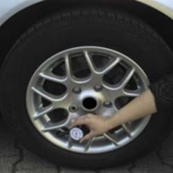 Auto Reifendruckprüfer - Zur einfachen Kontrolle des Reifendrucks bei PKW, LKW, Motorrad usw.
