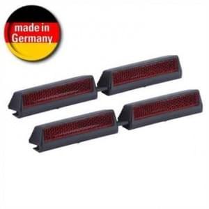 HR Auto Türkantenschoner 4er Set mit Reflektor - aufsteckbar - Größe: 21x21x158mm (Made in Germany)