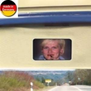 HR Make up Spiegel - selbstklebende Befestigung - Abmessung: 73 x 105 x 8 mm