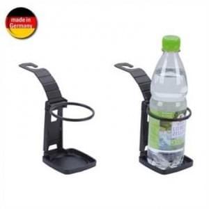 Auto Getränkehalter - Dosen, Becher bis Ø 70mm - Klemmen oder einhängen - Schwarz