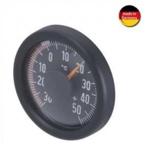 HR Innen / Außen Thermometer - selbstklebende Befestigung - Ø 49 x 12 mm - schwarz