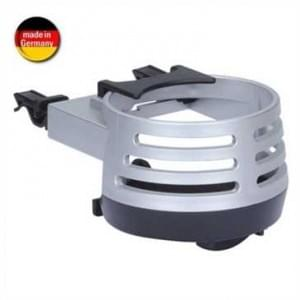 Auto Getränkedosenhalter - Getränkehalter Lüftungsgitter - Air Cooler Cupholder - Silber