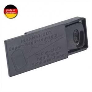 HR Schlüsseldepot - Magnet-Halterung für Schlüssel - Magnet Schlüsselbox - Schwarz