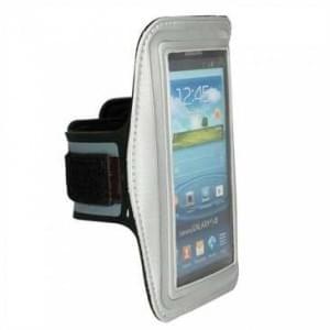 Universal Sport Armband - Größe 3XL - für Geräte bis 153 x 78 x 9 mm - Silber