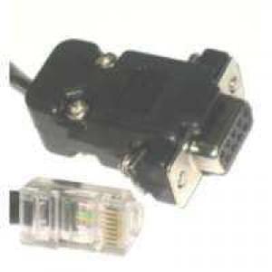 ISDN S0 Kabel RJ45 Stecker > SUB D 9pol Buchse - ISDN-Verbindungskabel - 10m