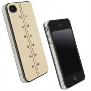 Krusell Kalix Under Cover für Apple iPhone 4 - Design: Kalix - Sand