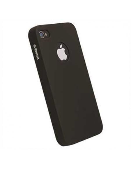 Krusell Gränna Cover für Apple iPhone 4S, iPhone 4 - Schwarz