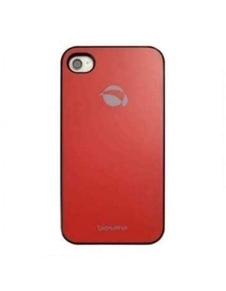 Krusell Bioserie Glass Cover für Apple iPhone 4S, iPhone 4 - Rot