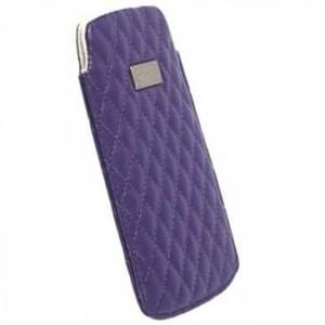 Krusell Tasche Avenyn 95392 - Innenmaß: 124 x 59 x 10 mm - L Long - Purple