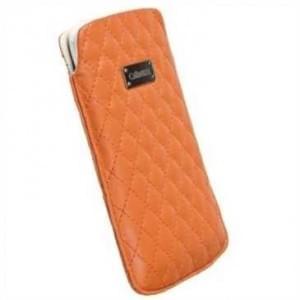 Krusell Tasche Avenyn 95393 - Innenmaß: 124 x 59 x 10 mm - L Long - Orange