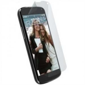 Krusell Nano Screen Protector / Schutzfolie für Google Nexus 4, LG E960