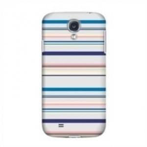 Krusell Cover für Samsung Galaxy S4, S4 LTE, i9500, i9505, i9506 - Blue Stripe