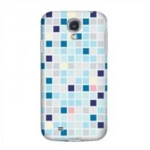 Krusell Cover für Samsung Galaxy S4, S4 LTE, i9500, i9505, i9506 - Blue Square