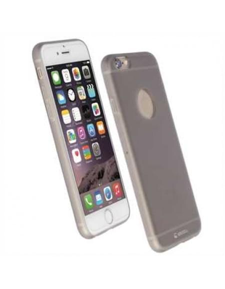 Krusell Bohus Cover 60712 für Apple iPhone 7 - Transparent Grau