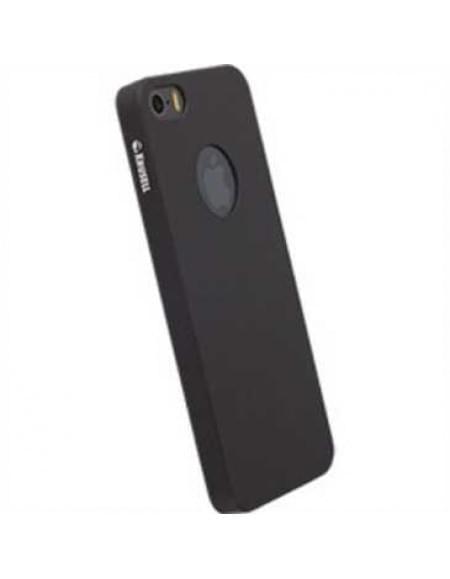 Krusell Gränna Cover für Apple iPhone SE, iPhone 5S, iPhone 5 - Schwarz