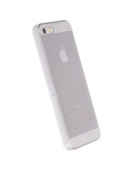 Krusell Boden Cover 60590 für Apple iPhone SE, iPhone 5S, iPhone 5 - Weiß