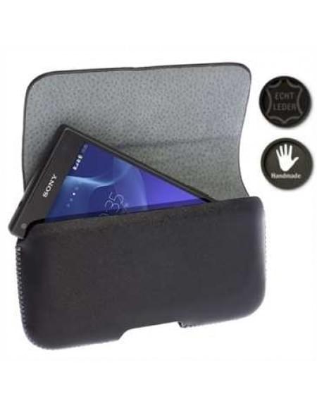 Krusell Hector Black Größe: 3XL - Innenmaß: 126,1-138,1 x 62-70,8 x 12 mm - Schwarz Kompatibilität Apple iPhone 7,  6, 6S