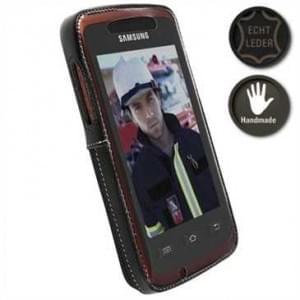 Krusell Tasche Classic Multidapt® 89647 für Samsung Galaxy Xcover S5690 - Schwarz
