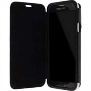 Krusell Tasche Donsö Flip Case für Samsung Galaxy S5 / S5 Neo Schwarz