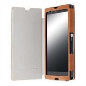 Krusell Tasche Kiruna Flip Case für Sony Xperia Z1 - Camel