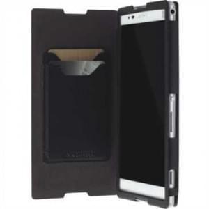Krusell Tasche Malmö Folio Case Partner 75822 für Sony Xperia T2 Ultra - Schwarz