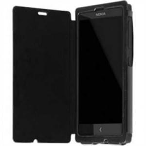 Krusell Tasche Donsö Flip Case Partner für Nokia X, X+ - Schwarz