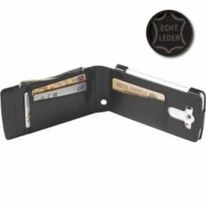 Krusell Tasche Kalmar WalletCase 76023 für LG G3 - Schwarz