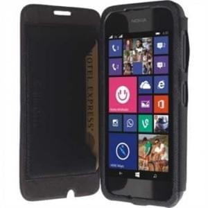 Krusell Tasche Malmö Folio Case Partner 75908 für Nokia Lumia 530, Lumia 530 Dual Sim - schwarz