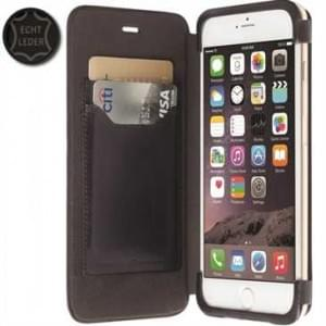 Krusell Tasche Kiruna FlipCase 76035 für Apple iPhone 6 Plus, iPhone 6S Plus - Schwarz