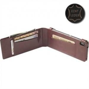 Krusell Tasche Kalmar Wallet Case für Sony Xperia Z3 Braun