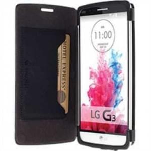 Krusell Tasche Malmö Folio Case Partner 76044 für LG G3 Stylus - schwarz