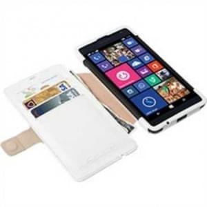 Krusell Tasche Malmö Folio Case für Microsoft Lumia 535 Weiß